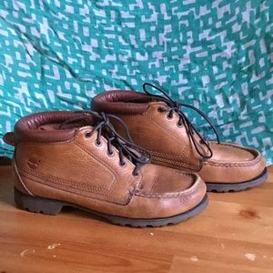 Vintage Timberland Low Rise Ankle Boots
